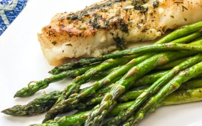 Garlic Butter Herb Cod