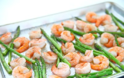 Sheet Pan Garlic Shrimp and Asparagus