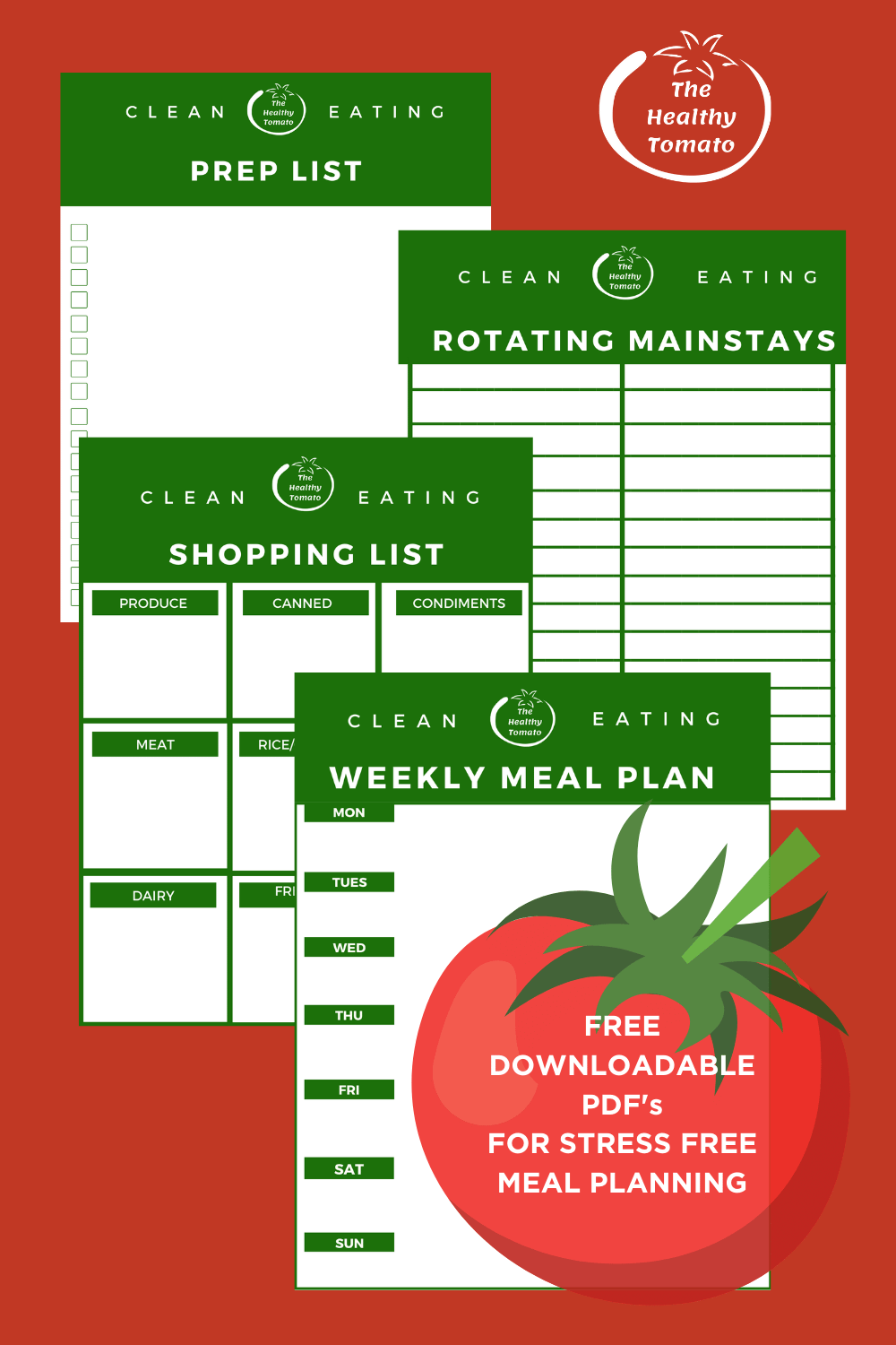 Foundational Principles of Meal Planning